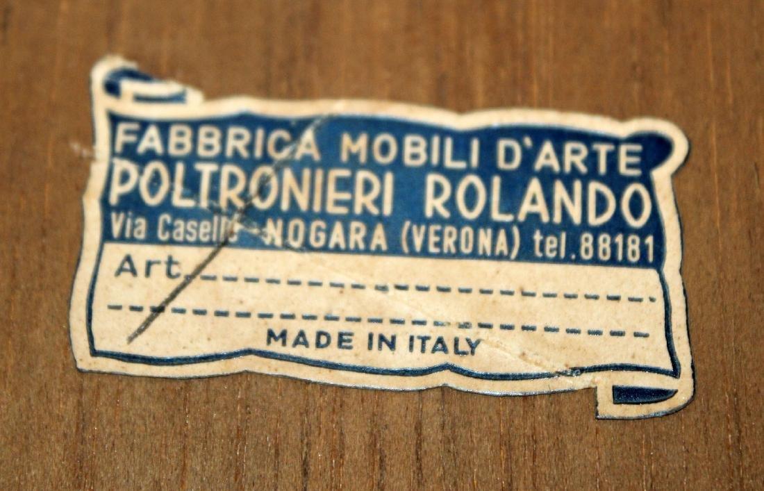 Pair Italian miniature bombe chest of drawers - 2