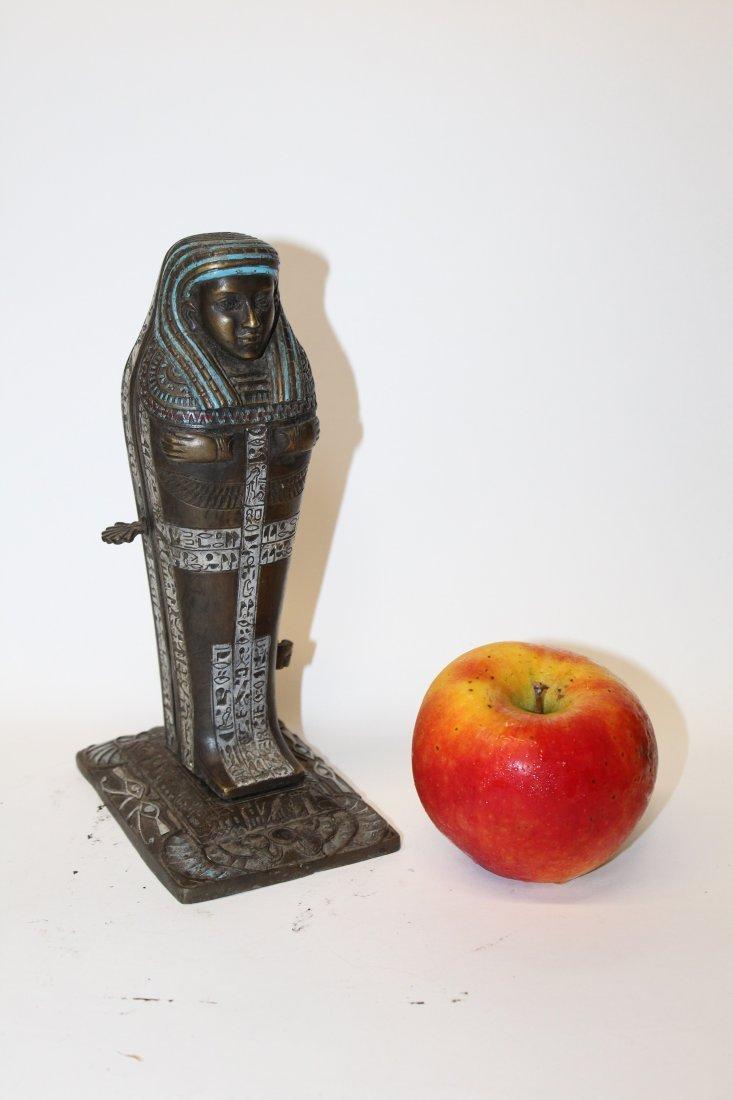 After Franz Bergman bronze erotic Sarcophagus figurine - 2