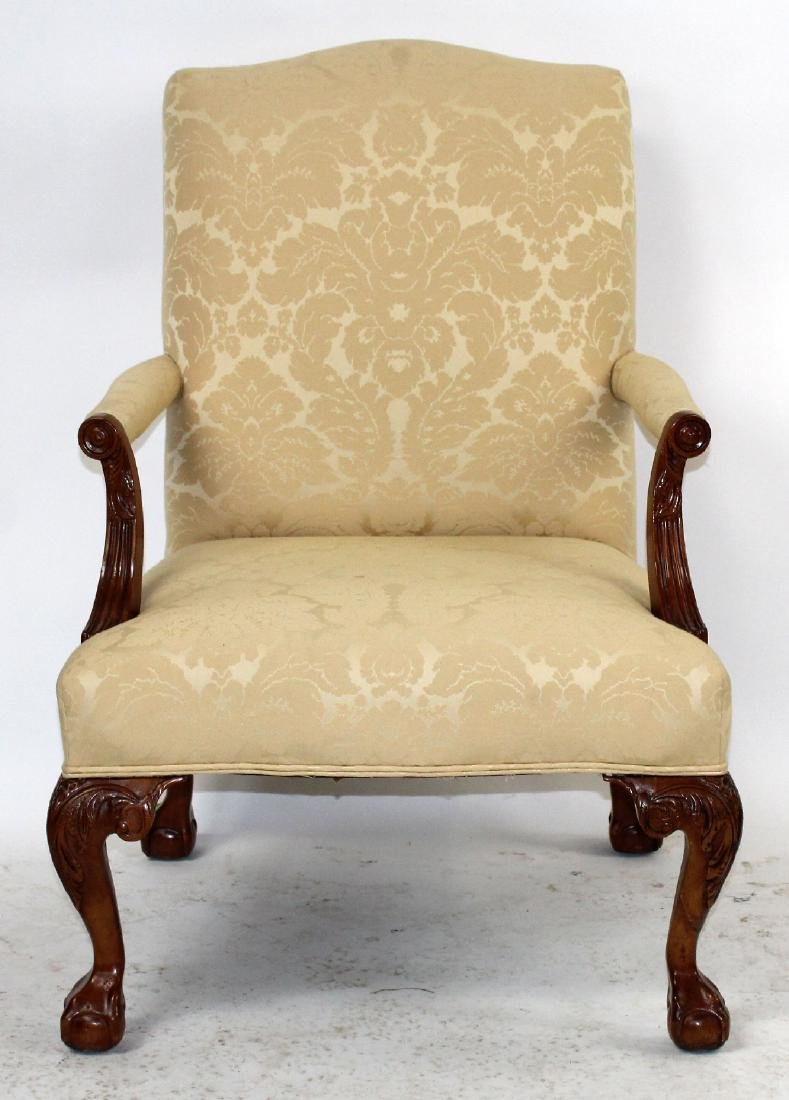 Henredon Chippendale style armchair
