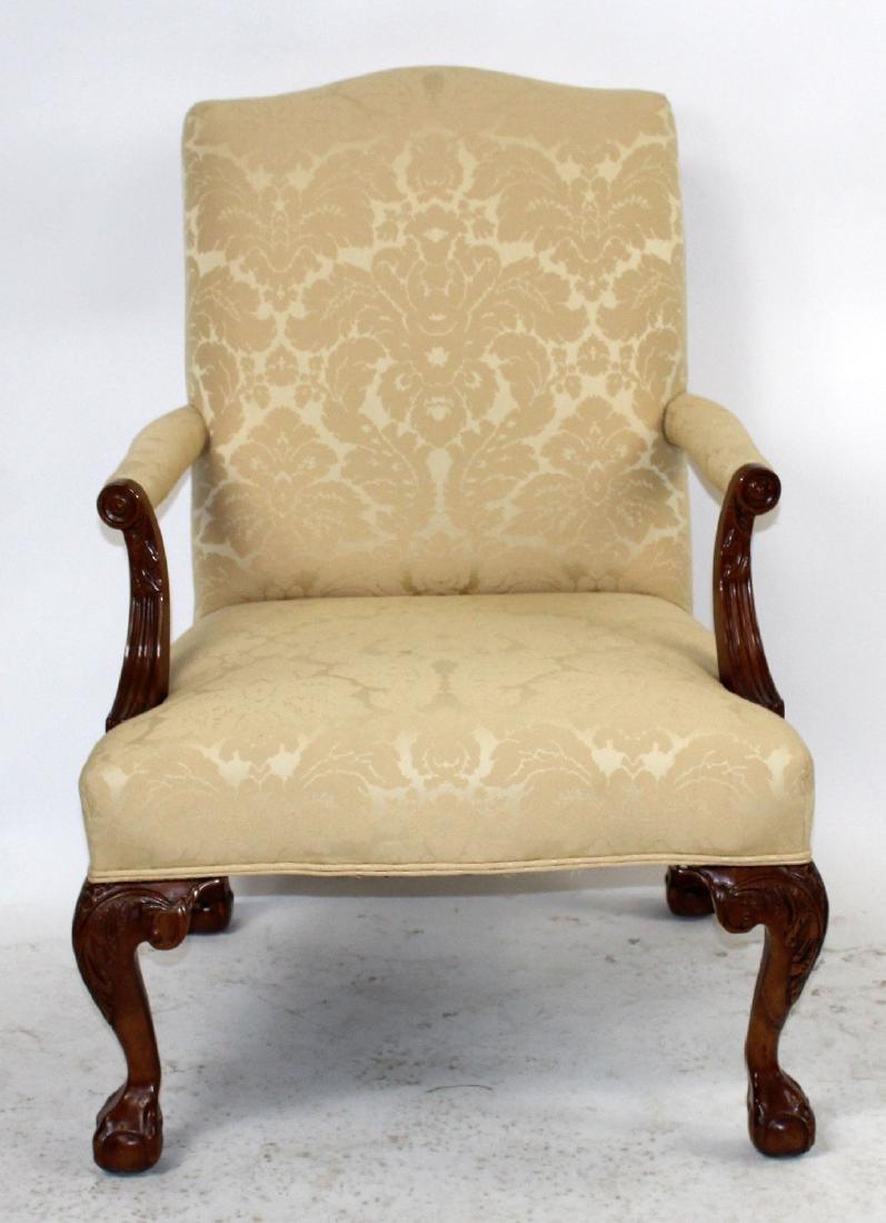 Henredon Chippendale style armchair - 3