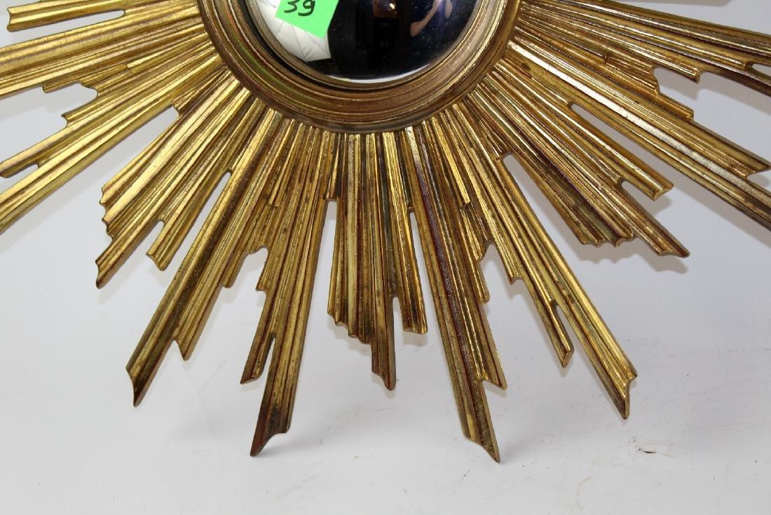 French Sunburst mirror - 3