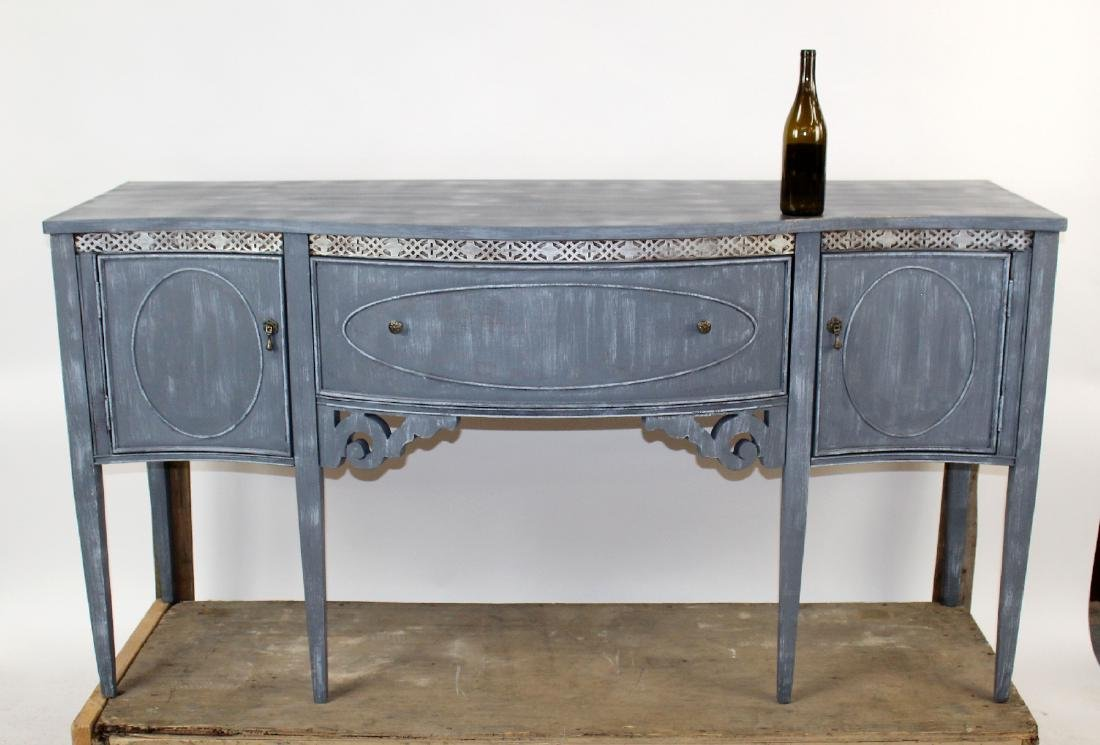 Sheraton style painted sideboard - 2