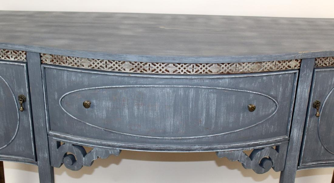 Sheraton style painted sideboard - 3