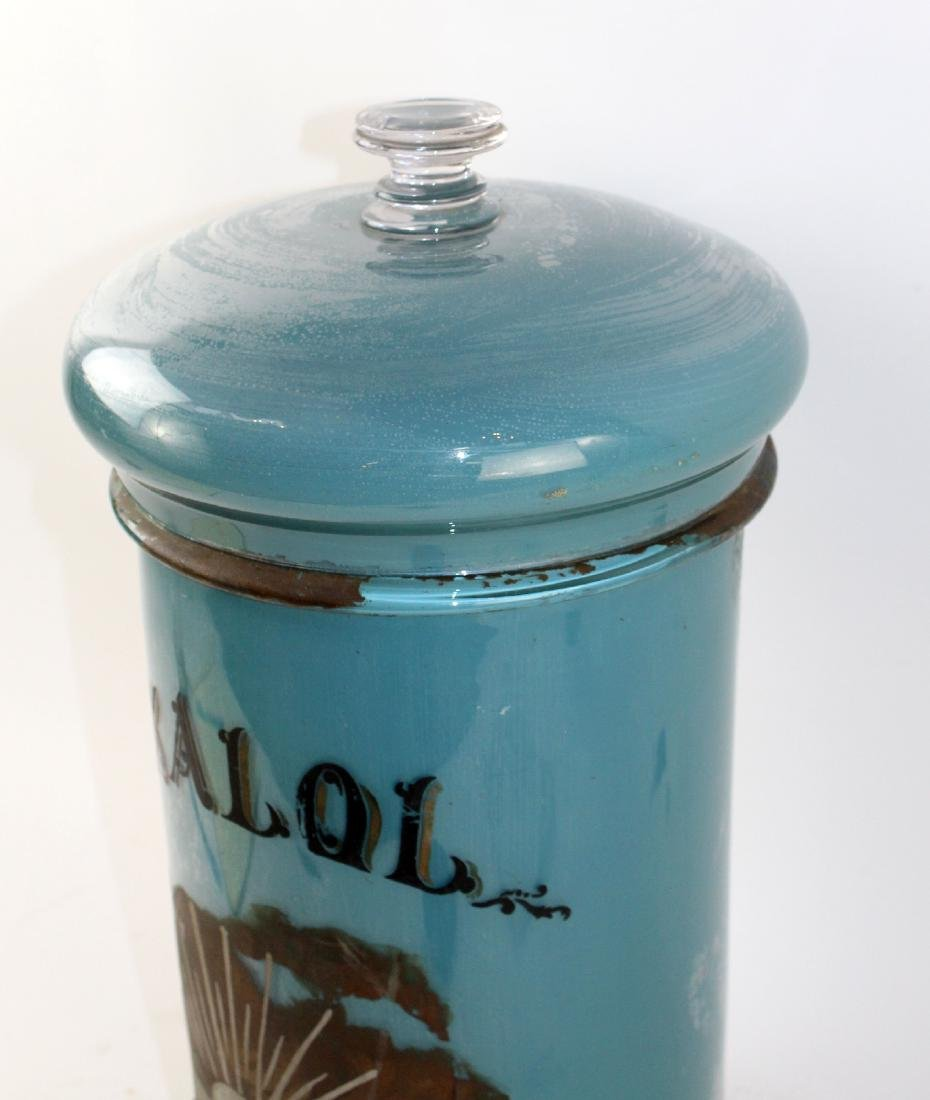 French apothecary jar - 4