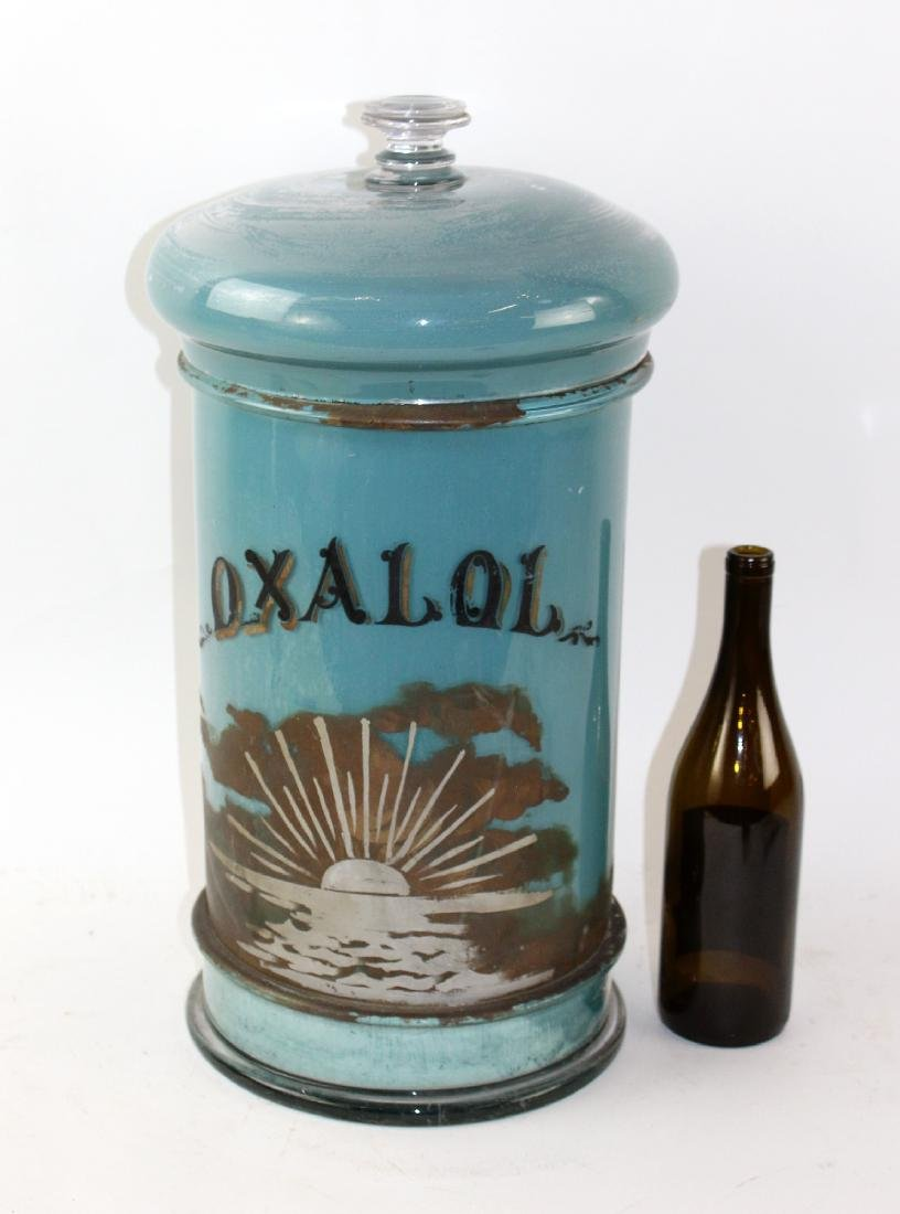 French apothecary jar - 5