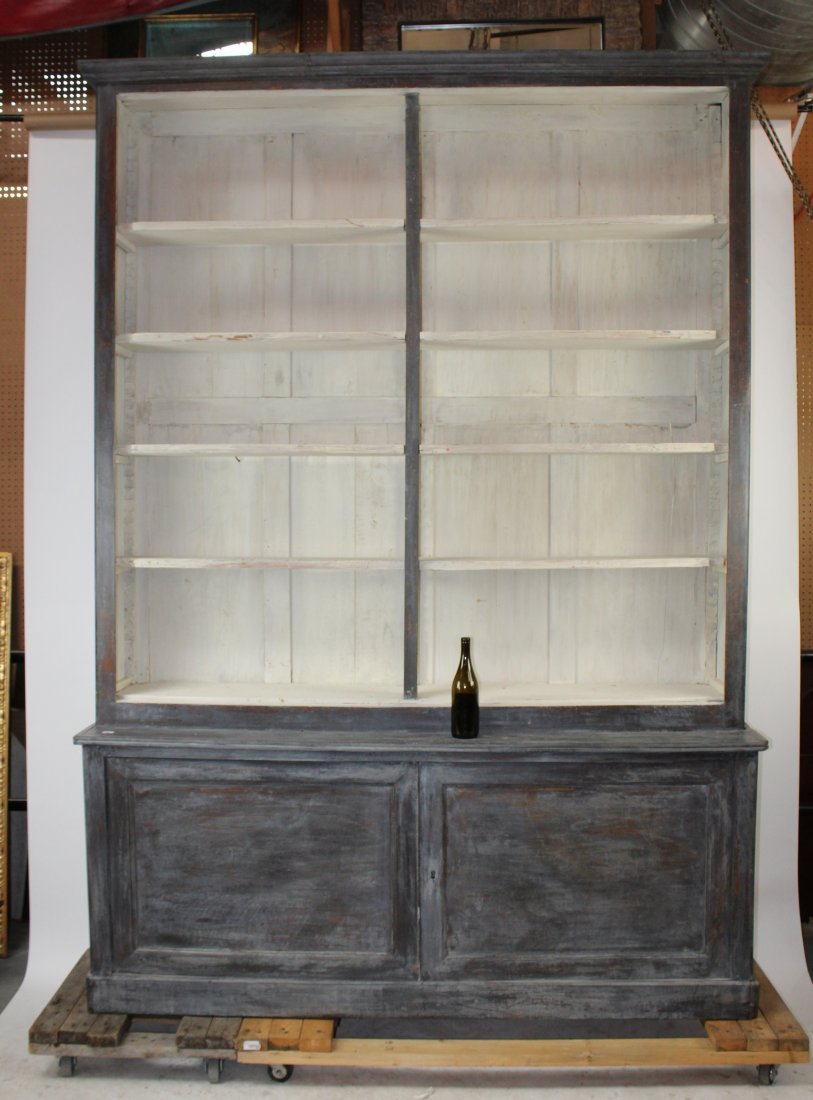 French Louis Philippe open top bookcase - 2