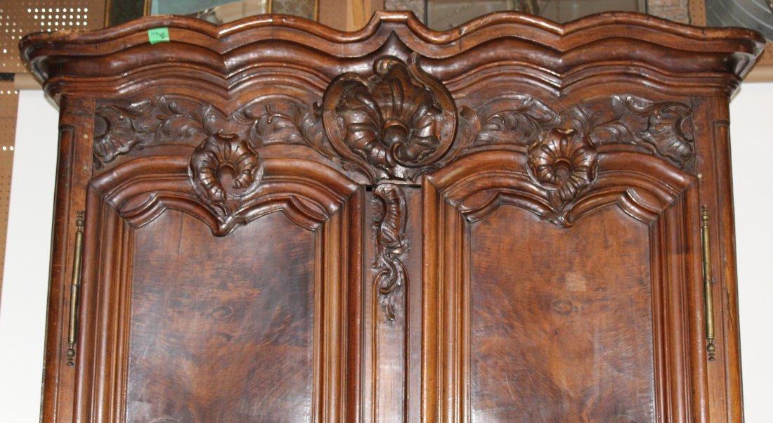 French Lyonnais 18th century armoire - 2
