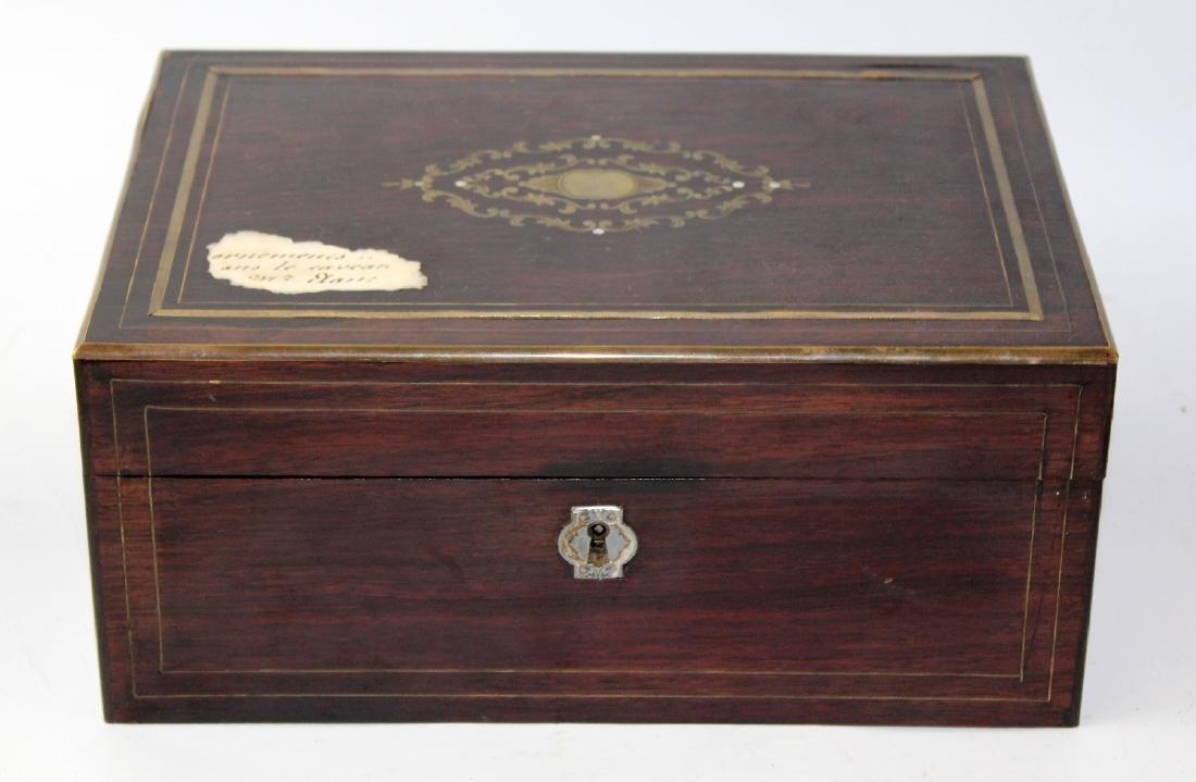 French Napoleon III dresser box