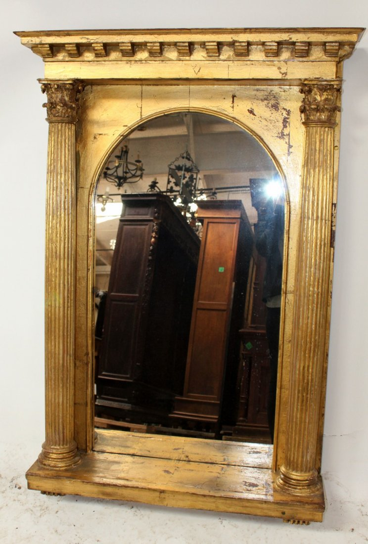 Neo Classical style gilt mirror