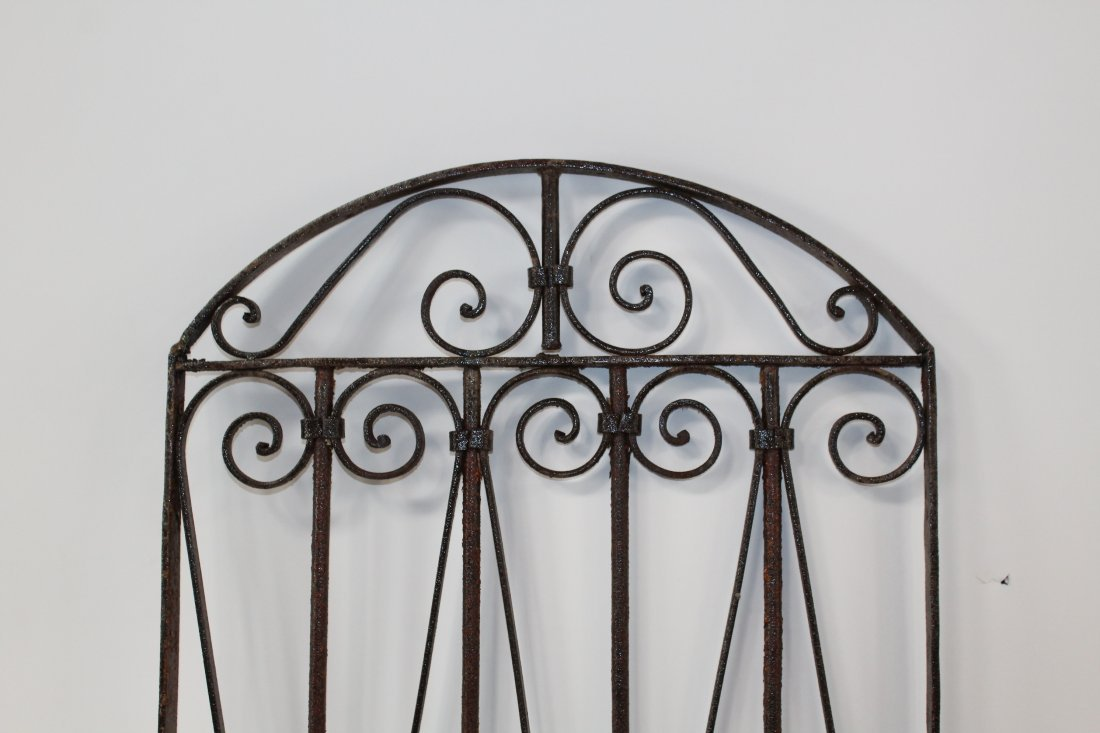 Wrought iron dome top panel - 3