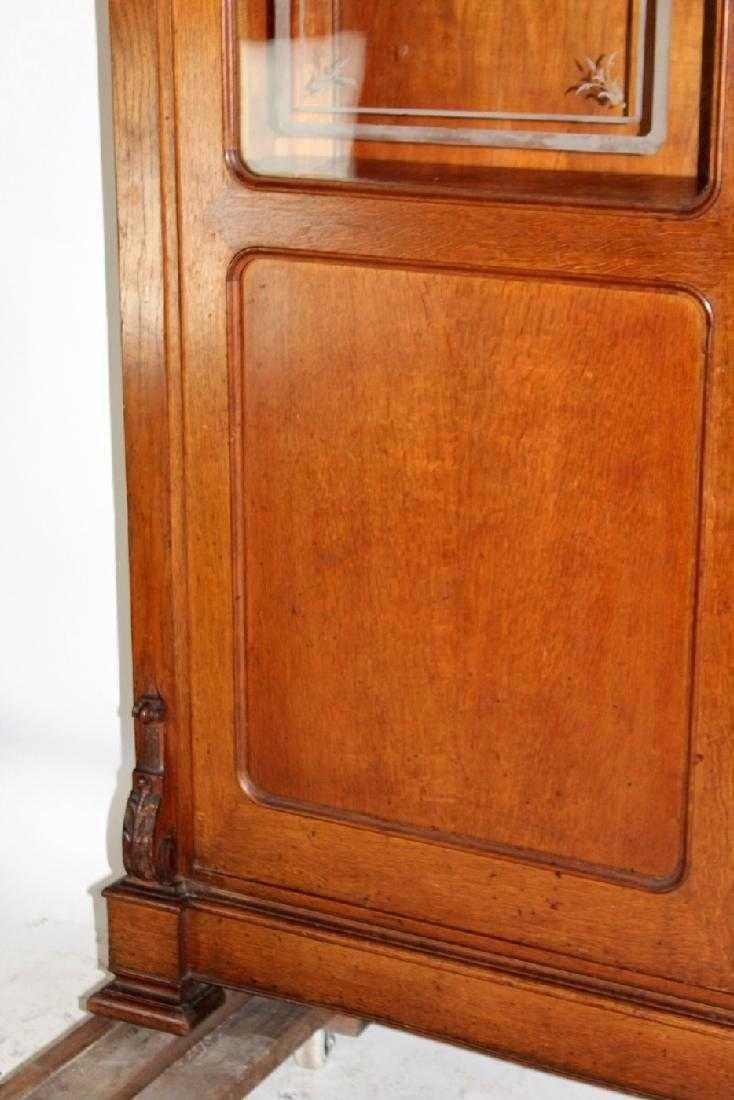 Italian hunt motif 2 door bookcase - 5