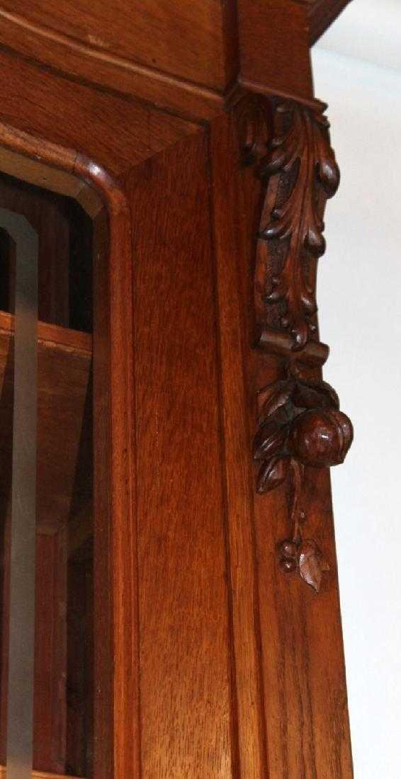 Italian hunt motif 2 door bookcase - 6
