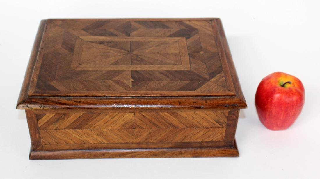 French marquetry box