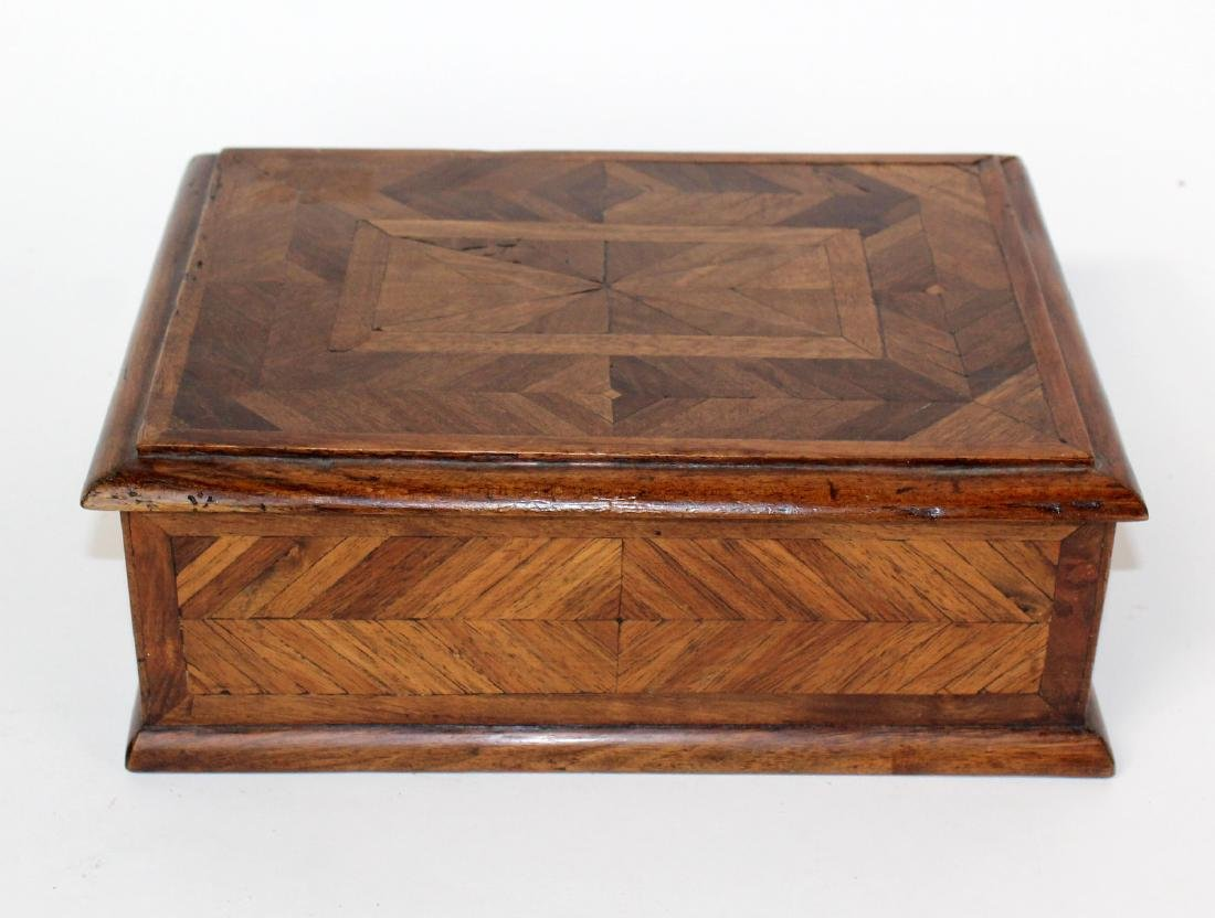 French marquetry box - 2
