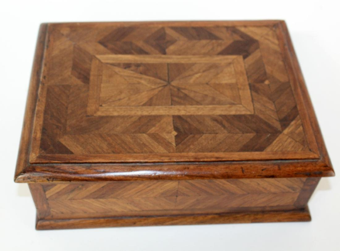 French marquetry box - 3