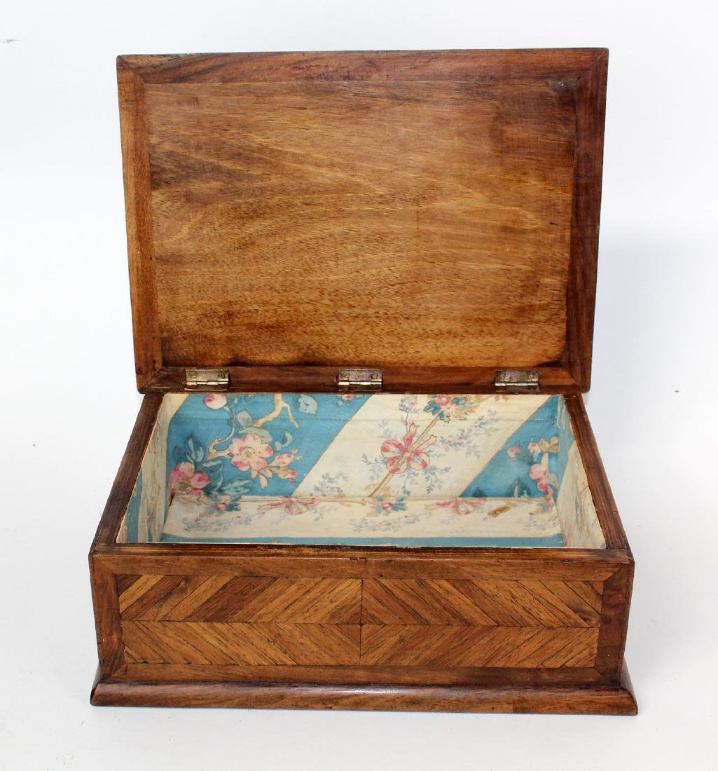 French marquetry box - 4