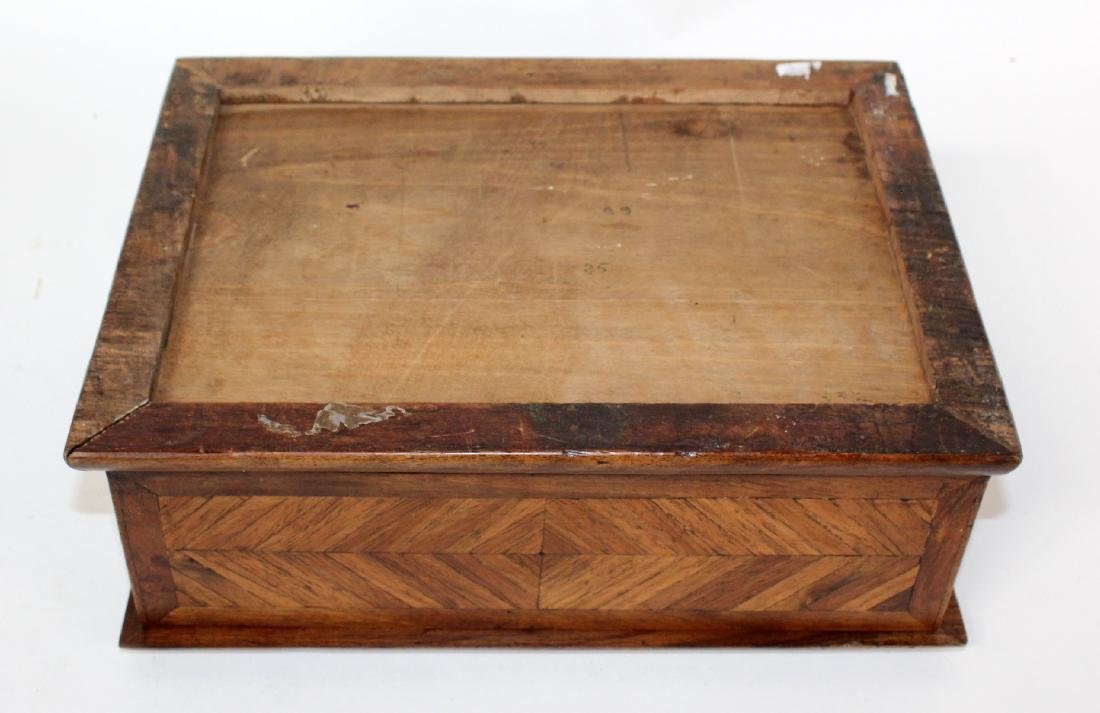 French marquetry box - 7