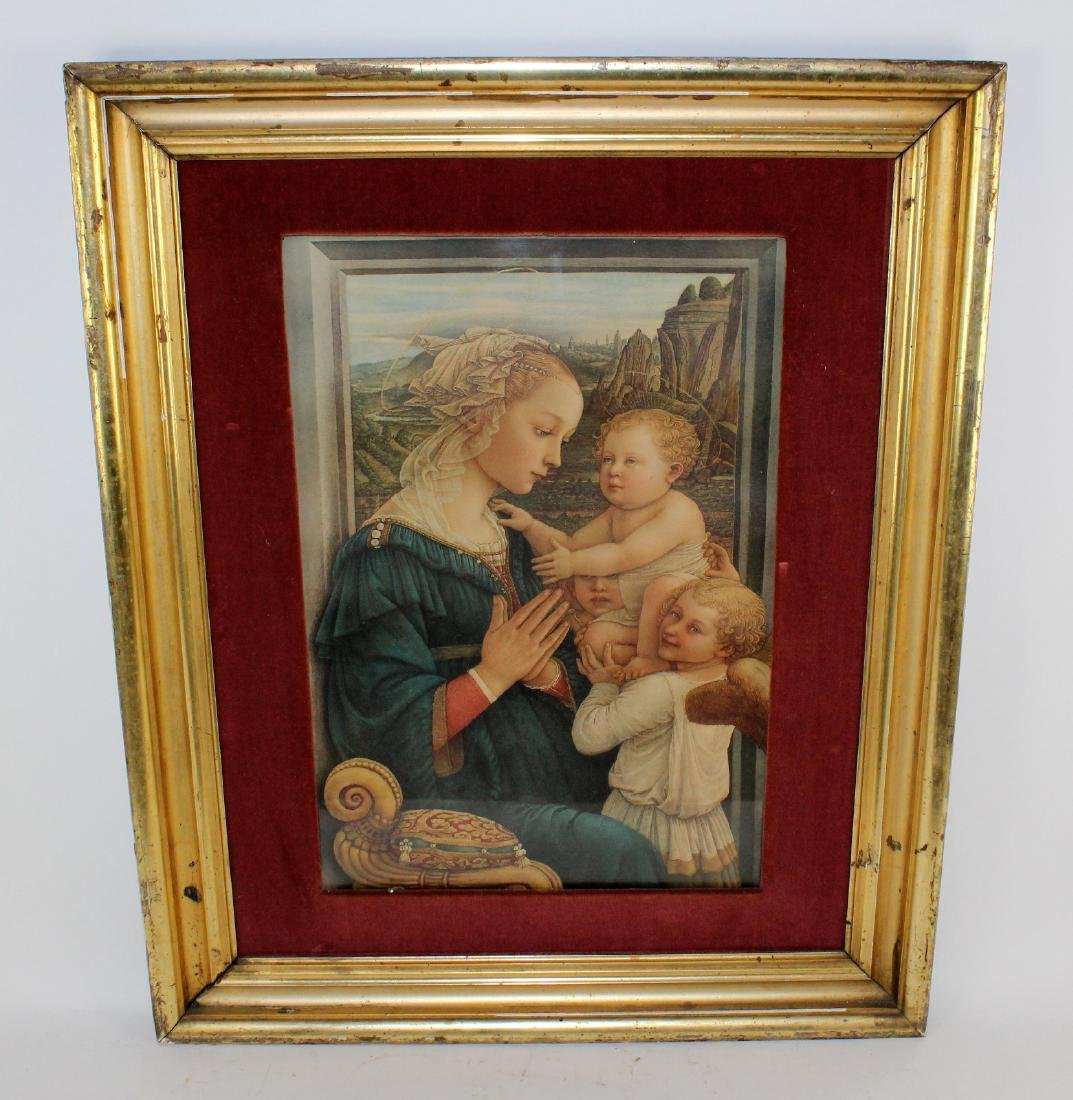 Madonna and Child after the original by Filippo Lippi