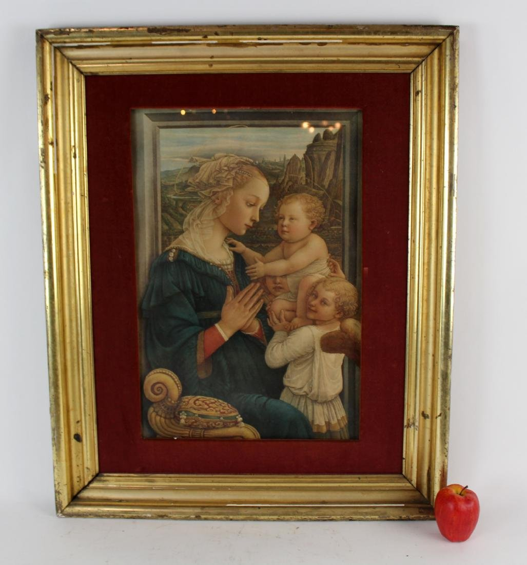 Madonna and Child after the original by Filippo Lippi - 7
