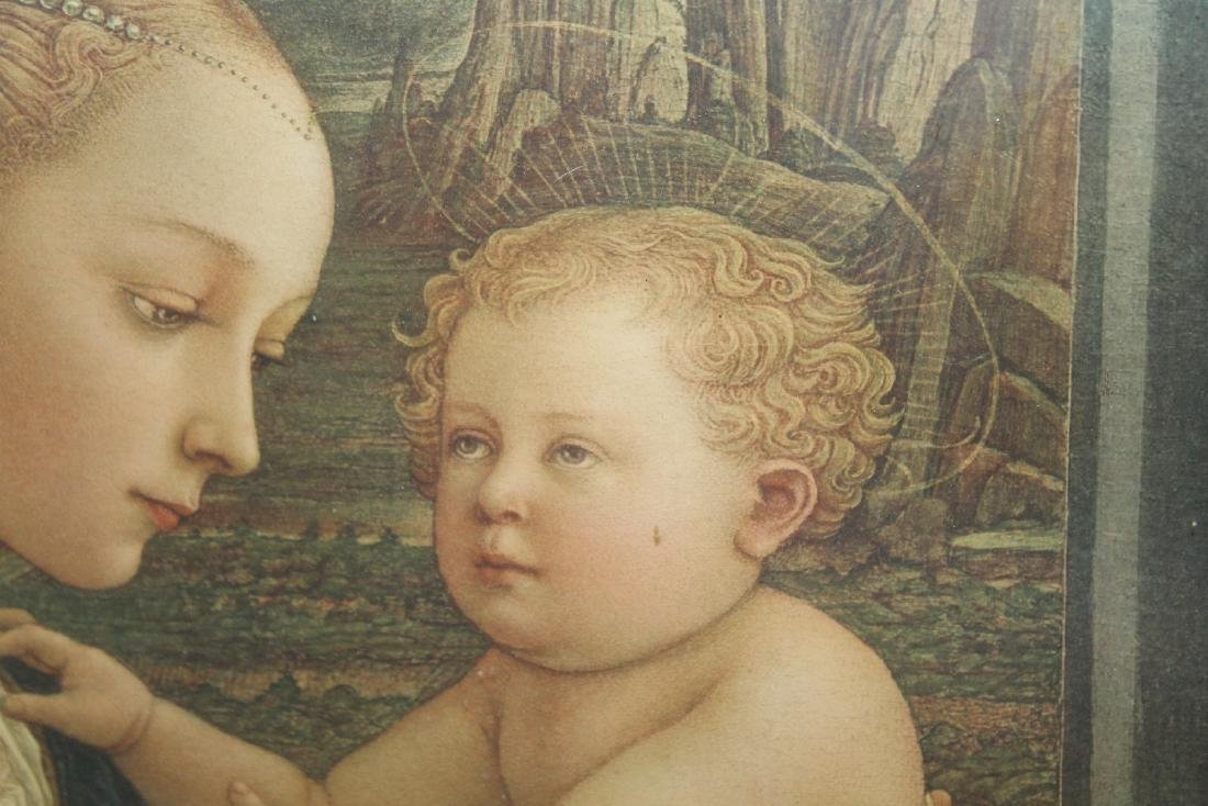 Madonna and Child after the original by Filippo Lippi - 8