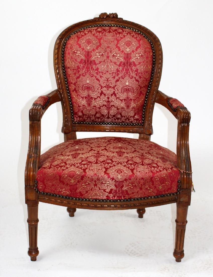 Louis XVI style armchair
