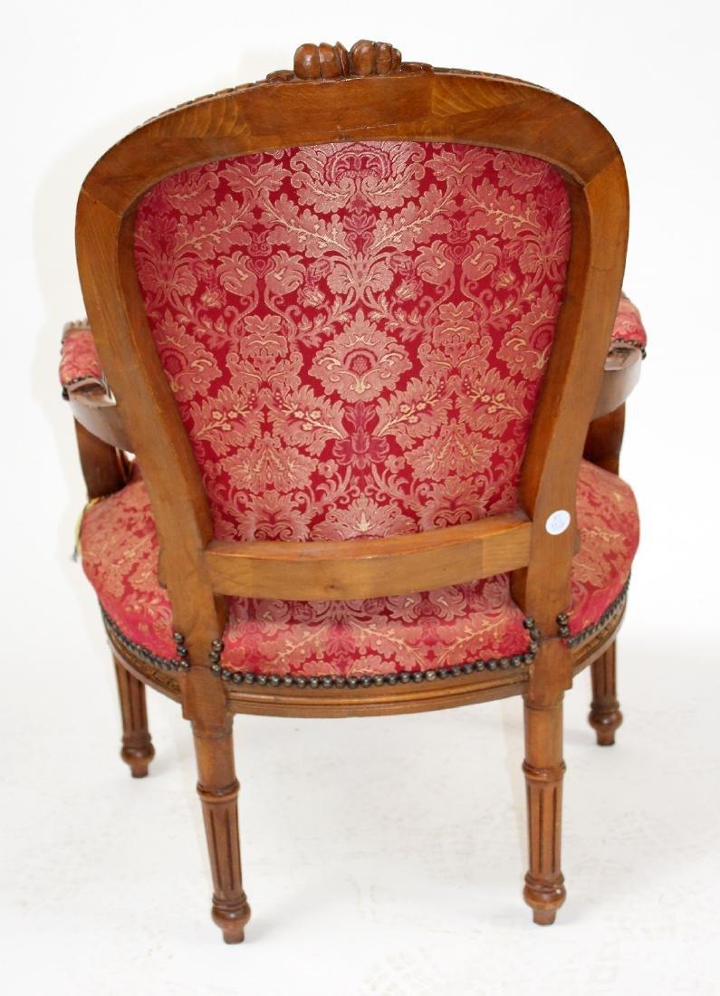 Louis XVI style armchair - 5