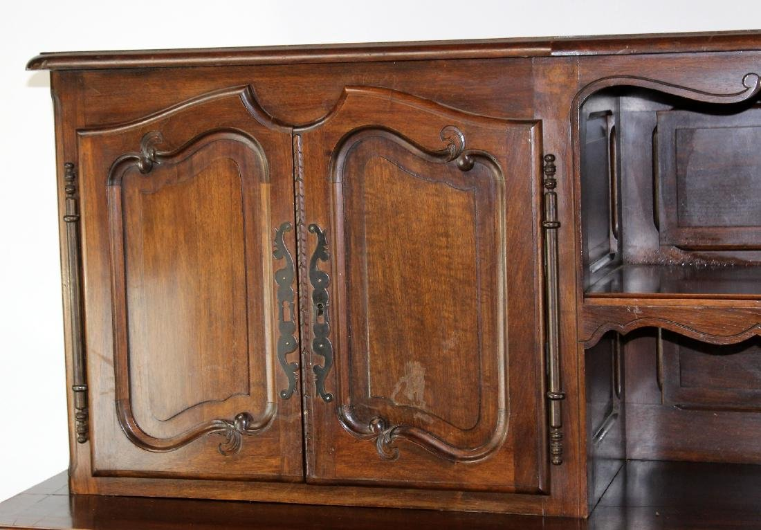 French Provincial buffet in walnut - 4