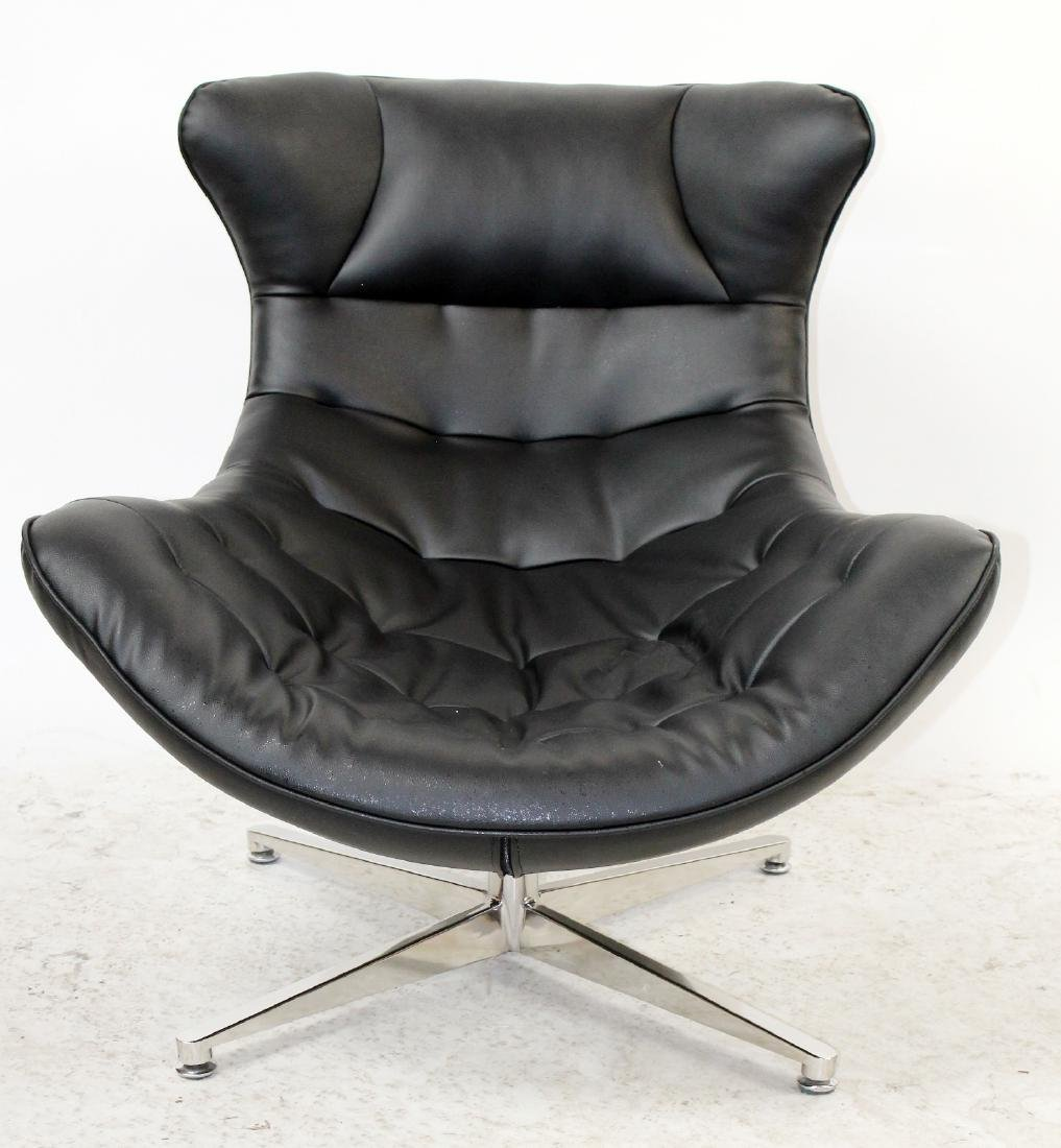 Lounge chair in the manner of Arne Jacobsen - 3