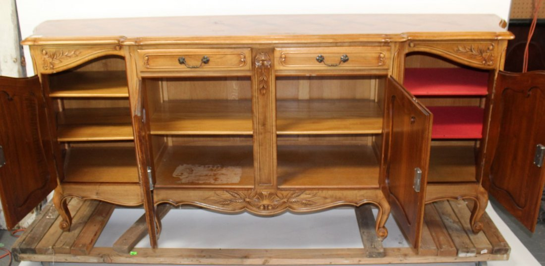 French Louis XV sideboard - 5