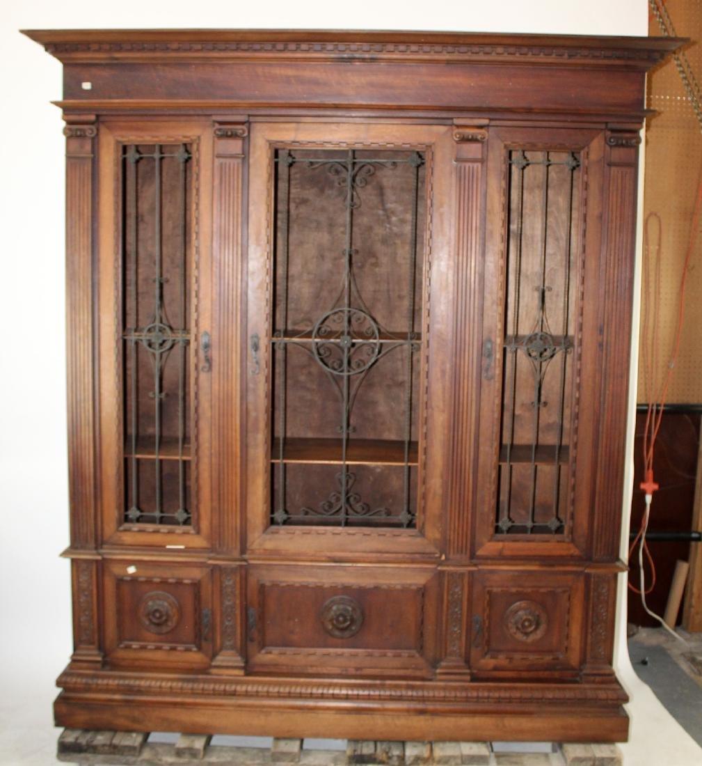 Italian Renaissance Revival bookcase