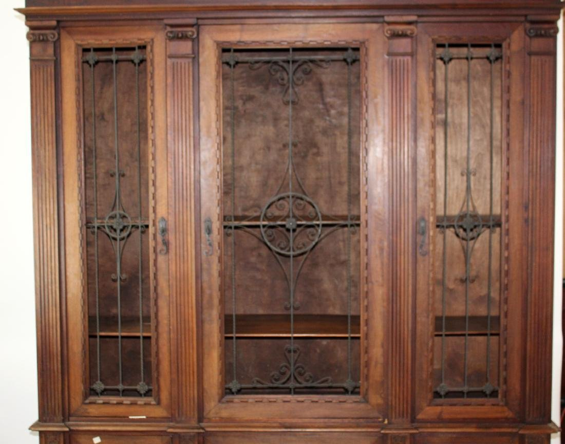 Italian Renaissance Revival bookcase - 4