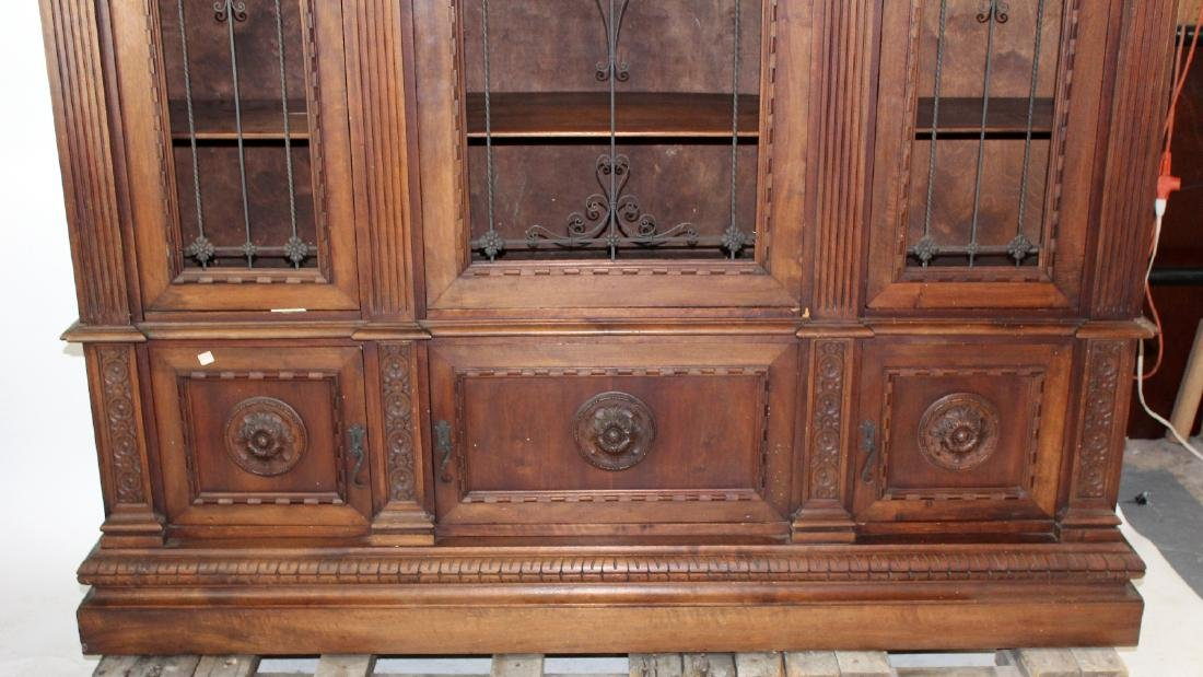 Italian Renaissance Revival bookcase - 5