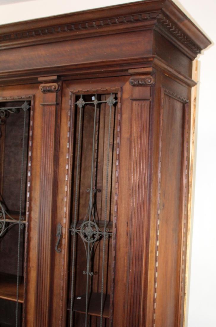 Italian Renaissance Revival bookcase - 6