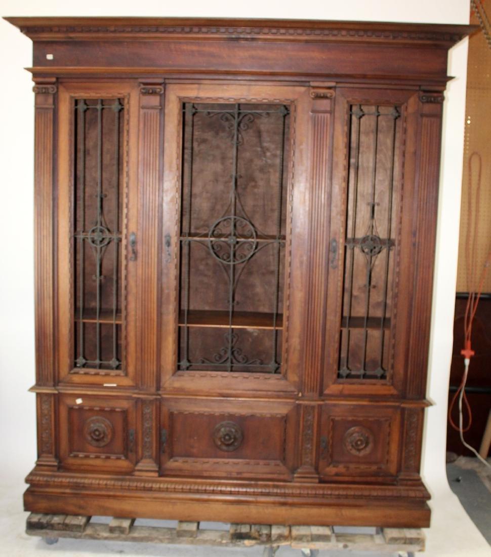 Italian Renaissance Revival bookcase - 7