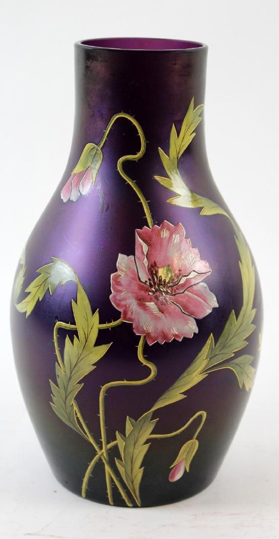German Poshinger Art Nouveau vase - 3