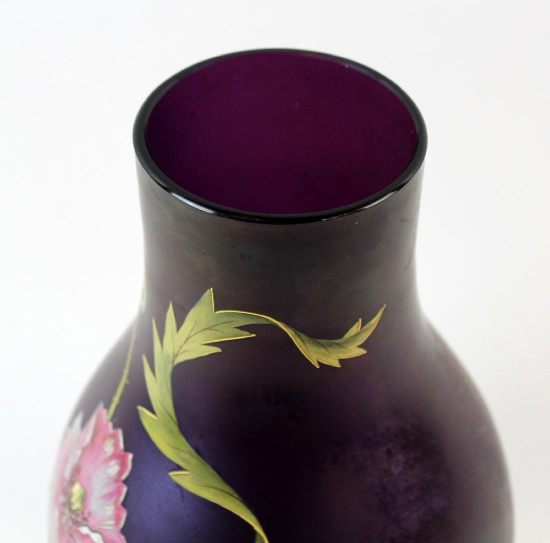 German Poshinger Art Nouveau vase - 5