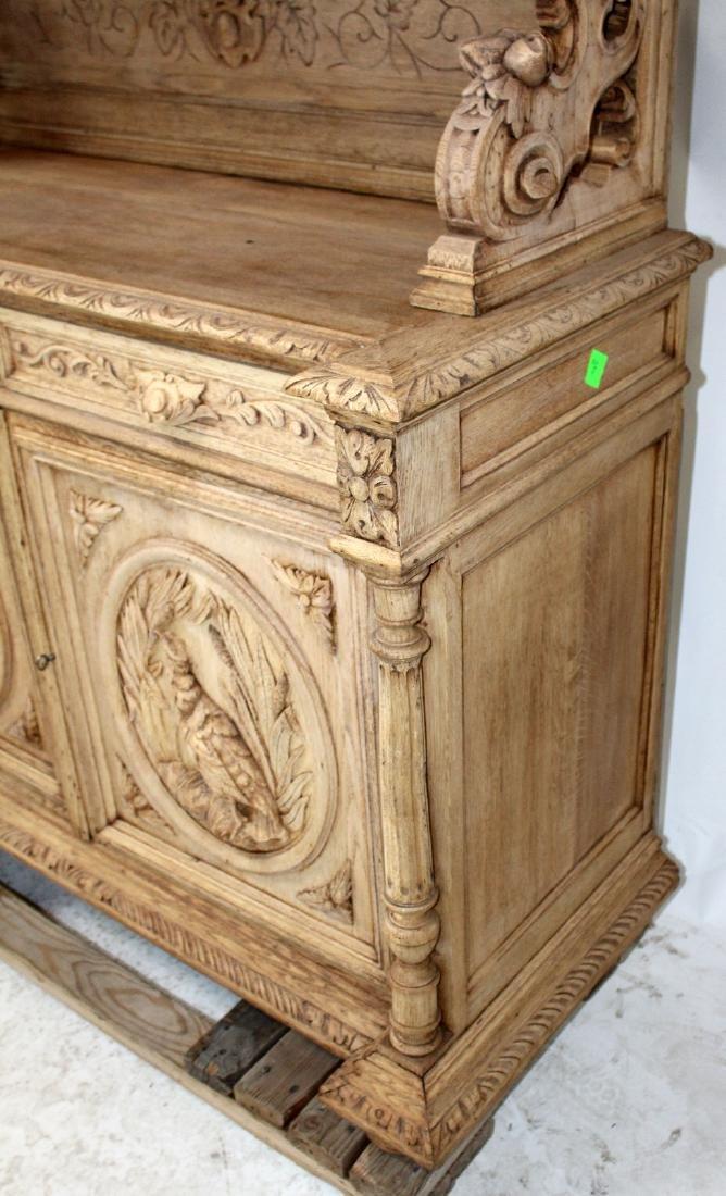 French Louis XIII buffet in carved oak - 2