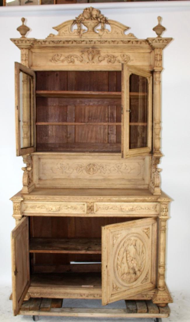 French Louis XIII buffet in carved oak - 7