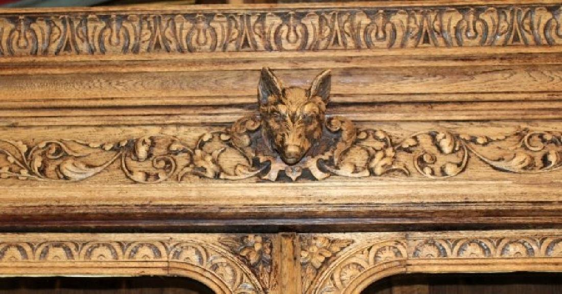 French Louis XIII heavily carved buffet - 6