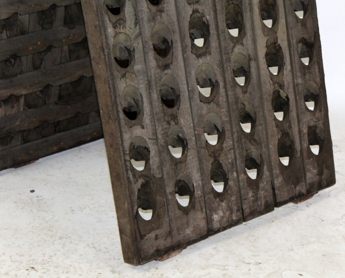 French Champagne riddling rack - 2
