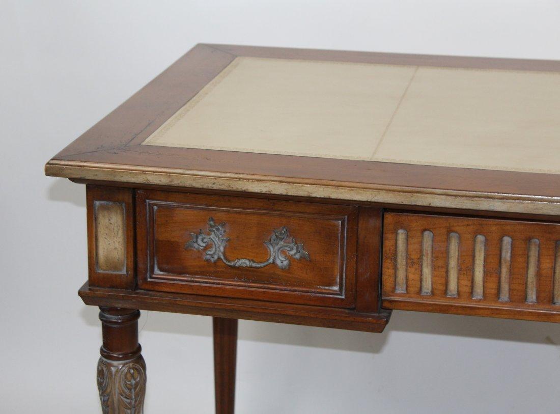 French Heritage Louis XVI style bureauplat desk - 4