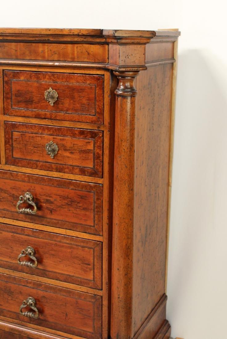 Mahogany 12-drawer bachelor's chest - 4