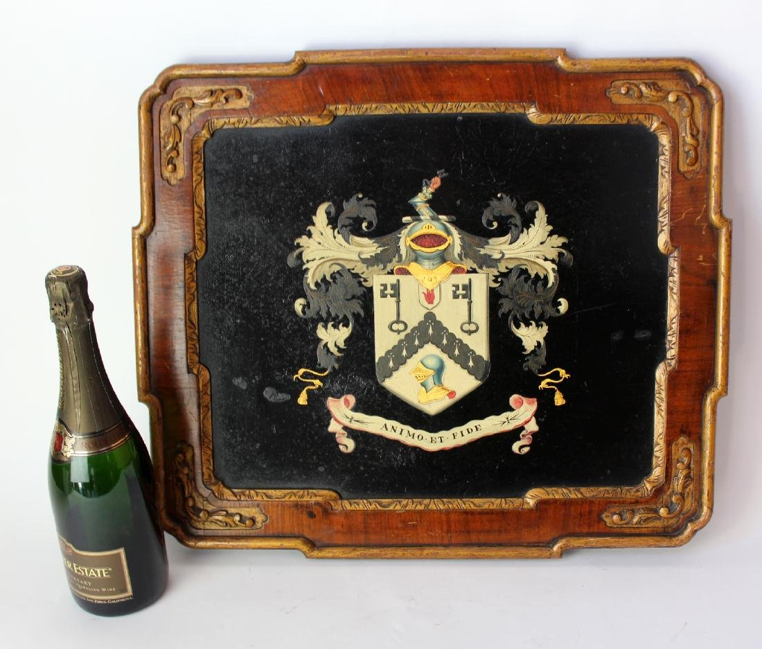 US Army 1st Cavalry Regiment crest painted wood plaque - 5