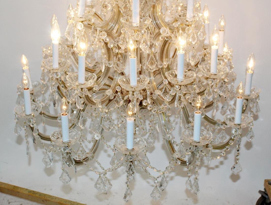 Maria Theresa 30-arm crystal chandelier - 2