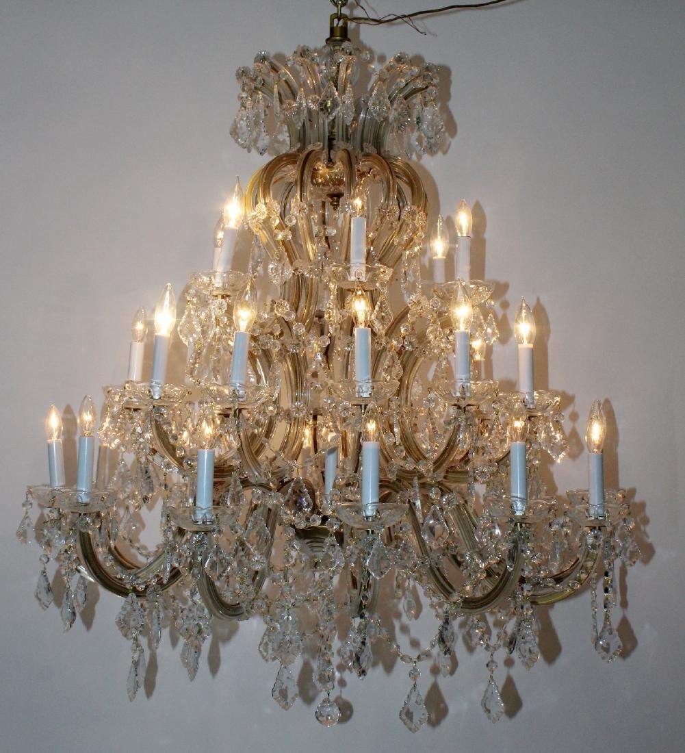 Maria Theresa 30-arm crystal chandelier - 3