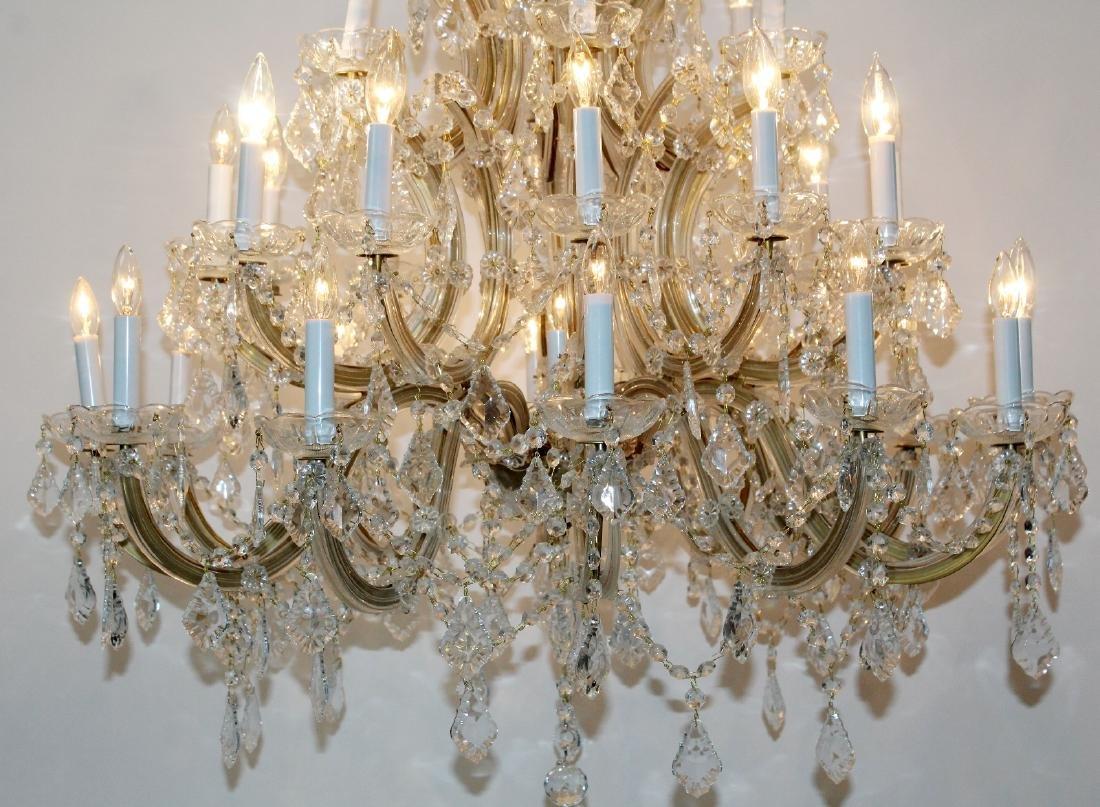Maria Theresa 30-arm crystal chandelier - 4
