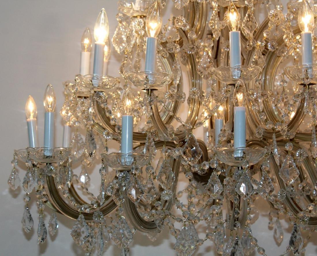 Maria Theresa 30-arm crystal chandelier - 6