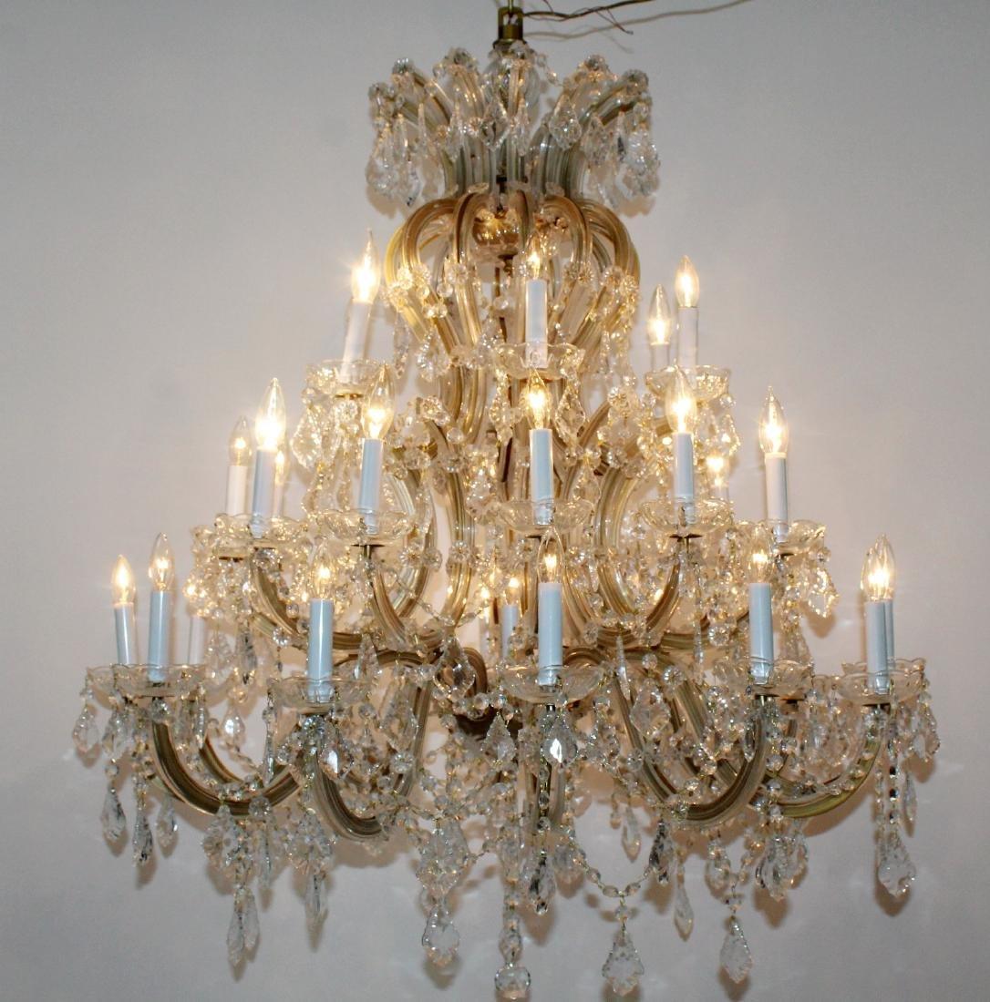 Maria Theresa 30-arm crystal chandelier - 7
