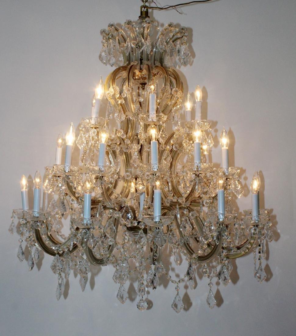 Maria Theresa 30-arm crystal chandelier - 8