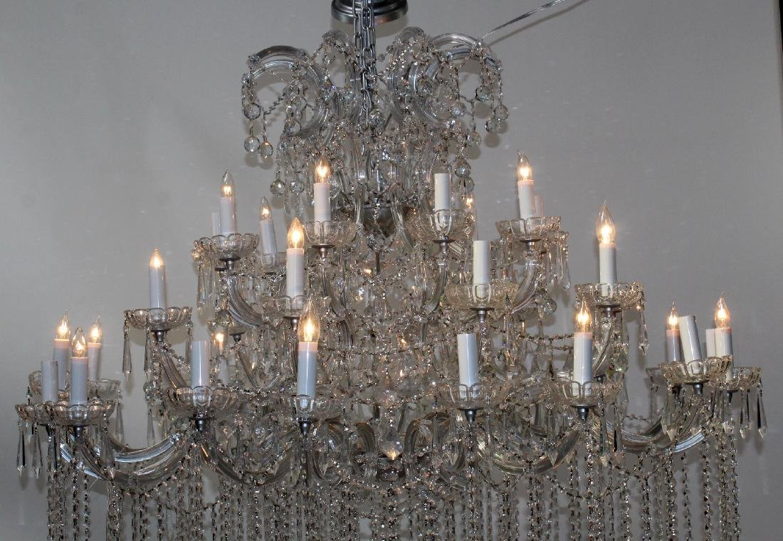 36 Light grand scale crystal chandelier - 2